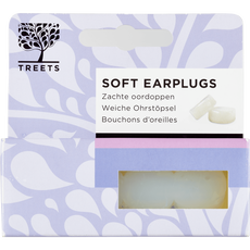 Treets Wellbeing Soft Earplugs