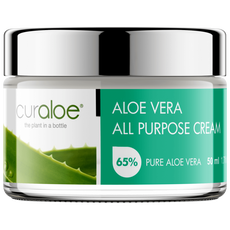 Curaloe All Purpose Cream 65% Aloë Vera
