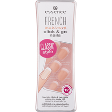 Essence French Manicure Click & Go Nails