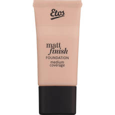 Etos Matt Finish Foundation 04 Warm Beige