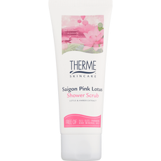 Therme Saigon Pink Lotus Shower Scrub Mini