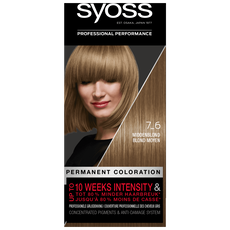 Syoss Salonplex Permanent Coloration 7-6 Middenblond
