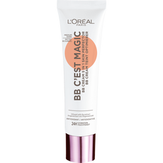 L'Oréal Paris Make-Up Designer BB C'est Magic BB Cream 05 Medium Dark met Hydraterend Vijg-extract en Antioxidanten SPF20