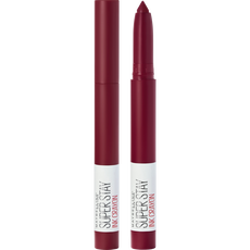 Maybelline SuperStay Ink Crayon Lipstick - 55 Make it Happen - Rood - Matte Lippenstift