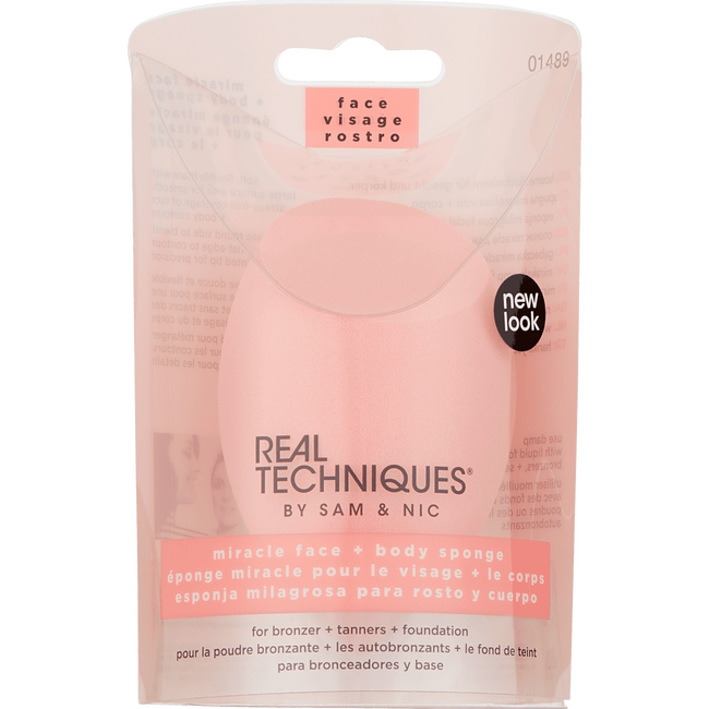 Real Techniques Miracle Complexion Face & Body Sponge
