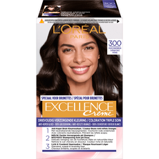 L'Oréal Paris Excellence EXCELL FR/NL 300 True Dark Brown Haarkleuring Bruin