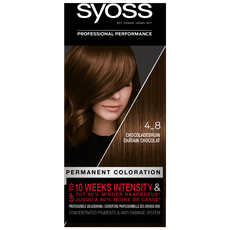 Syoss Salonplex Permanent Coloration 4-8 Chocolade Bruin