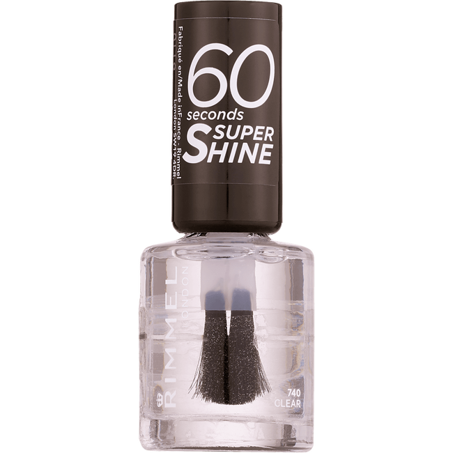 Rimmel London 60 Seconds Supershine Nailpolish - 740 Clear