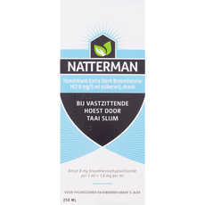 Natterman Broomhexine Extra Sterk 8mg/5ml