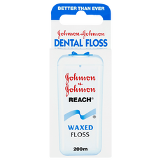 Johnson & Johnson Dental Floss Reach Waxed Floss