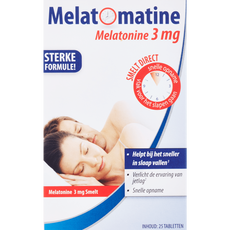 Melatomatine Melatonine Tabletten 3 mg