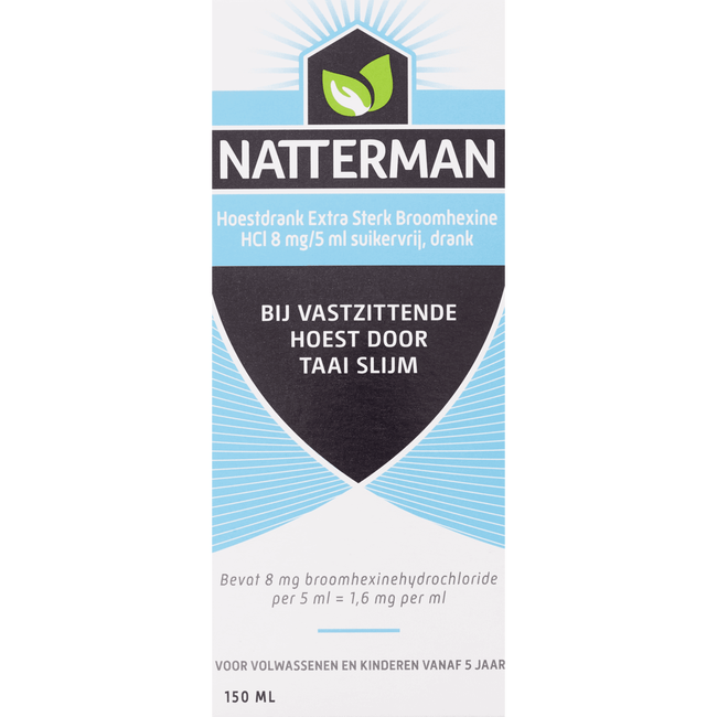 Natterman Broomhexine es 8mg/5ml