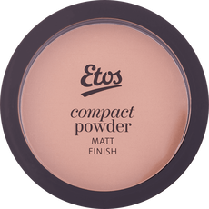 Etos Compact Powder Matt Finish Cool Honey