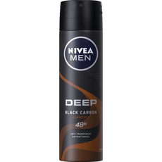 NIVEA MEN DEEP Black Carbon Espresso Deodorant Spray