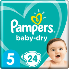 Pampers Baby-Dry Luiers 5