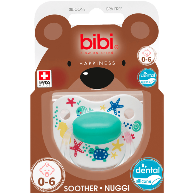Bibi Happiness Dental Play With Us Fopspeen 0-6 Maanden