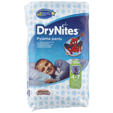 Huggies DryNites Boys Pyjama Pants 4-7