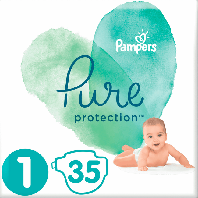 Pampers Pure Protection Luiers 1