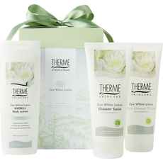 Therme CDS Shower 200ml/Scrub 200ml/Body Lotion 250ml Zen White Lotus