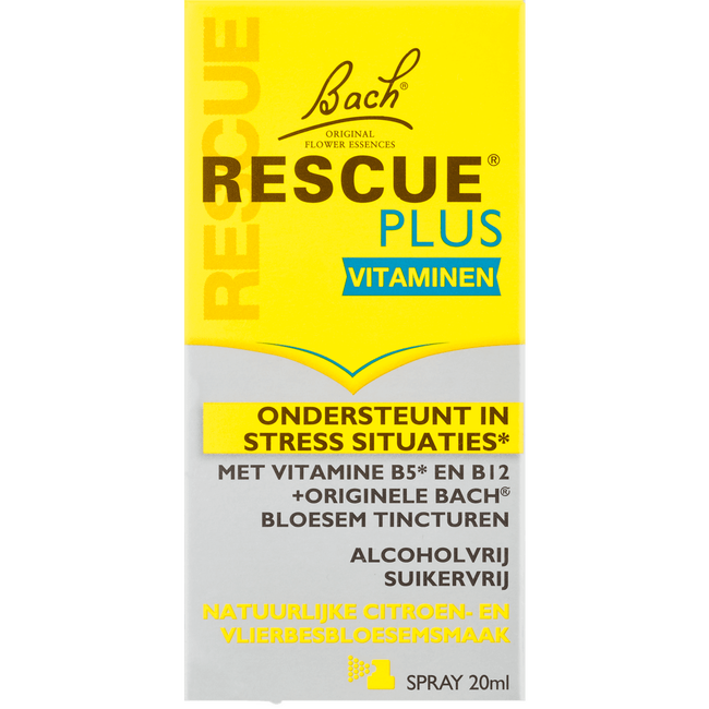 Bach Rescue Plus Spray