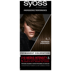 Syoss Salonplex Permanent Coloration 4-1 Middenbruin