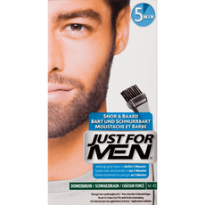 Just For Men Snor & Baard Haarverf M-45 Donkerbruin