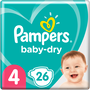 Pampers Baby-Dry Luiers 4