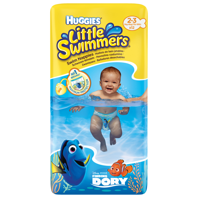 Huggies Little Swimmers Zwemluiers 2-3