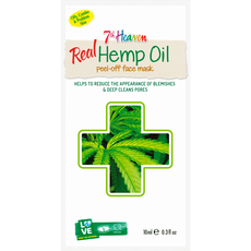 7Th Heaven Real Hemp Oil Peel Off Masker