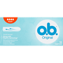 o.b. Original Curved Grooves Tampons Super
