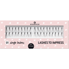essence lashes to impress 01 single lashes
