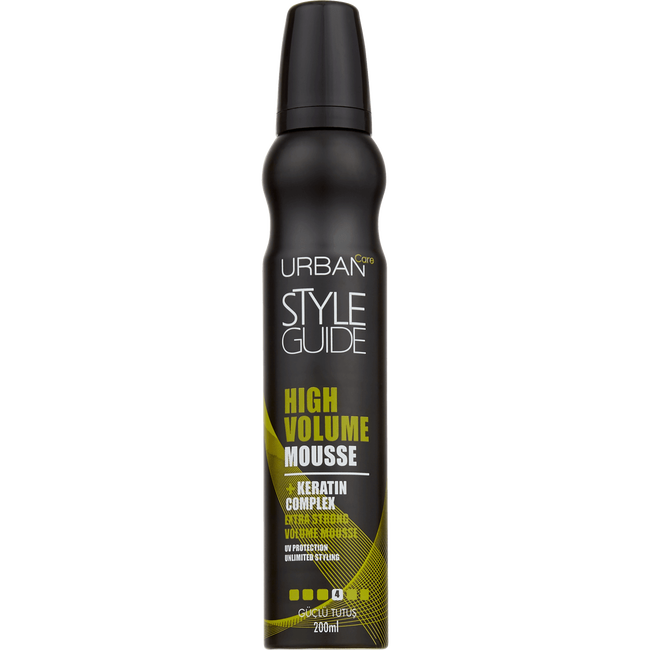 Urban Care Style Guide High Volume Mousse