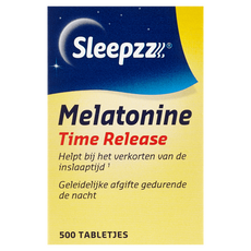 SleepzZ Time Release Melatonine Tabletjes