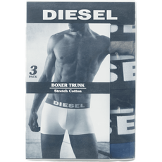 Diesel 3pack boxershorts Grey/Black/Blue L