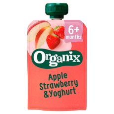 Organix Apple & Strawberry Yoghurt