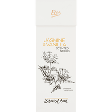 Etos Botanical Boost Jasmine & Vanilla Scented Sticks