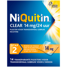 Niquitin Clear Transparante Pleisters