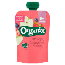 Organix Apple, Strawberry & Blueberry