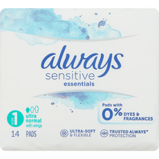 Always Sensitive Maandverband Essentials Normal Plus Met Vleugels