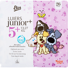 Etos Woezel & Pip Luiers Junior Plus 5+