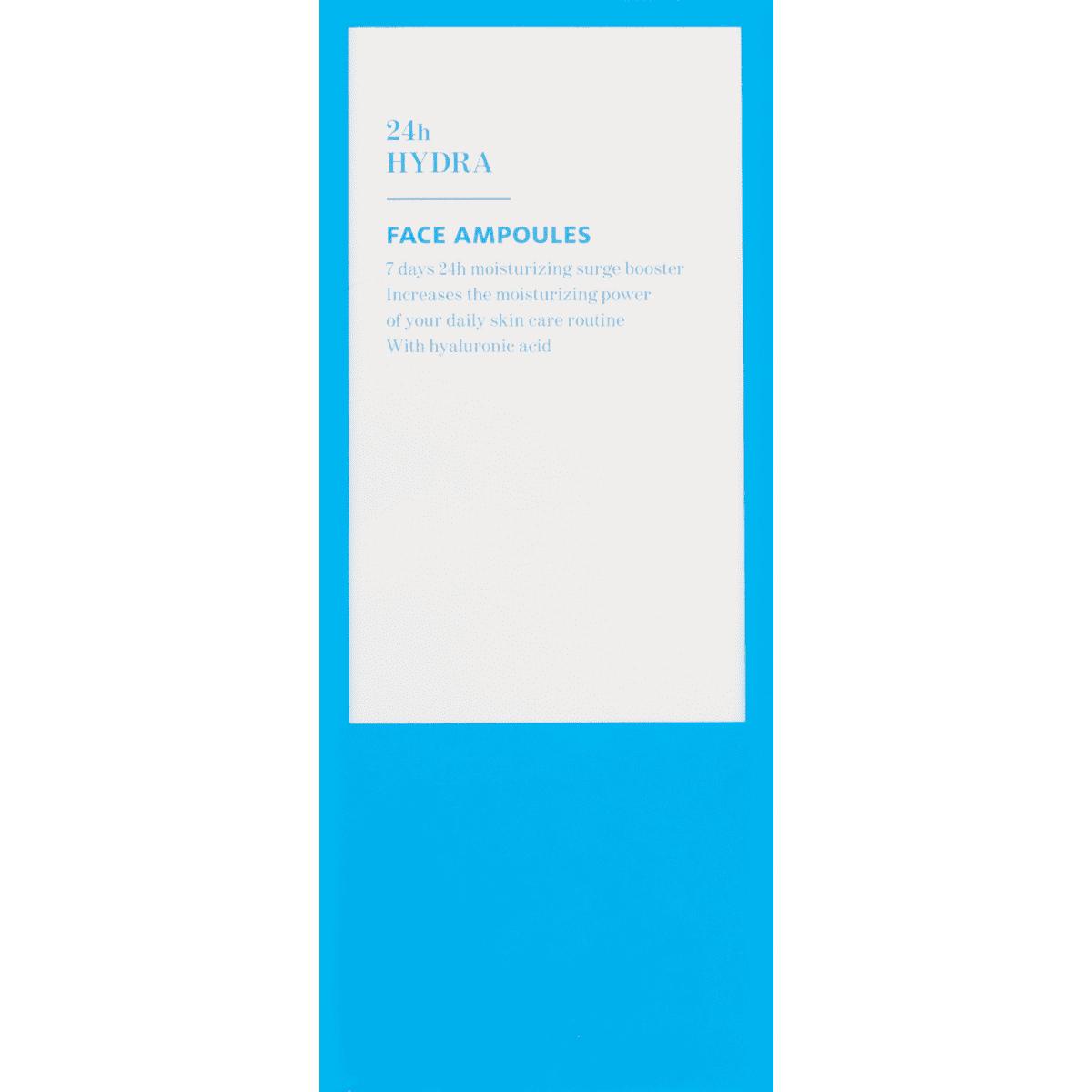 Etos 24H Hydra Face Ampoules