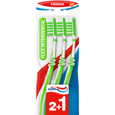 Aquafresh Flex Interdental Tandenborstel Medium 2+1