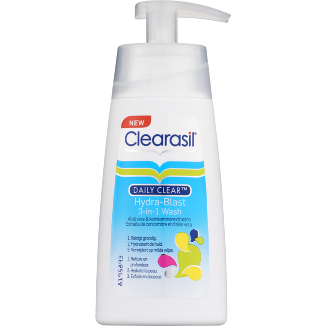 Clearasil Reiningingslotion Daily Clear 3-in-1 Wash 150 ML