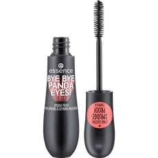 essence bye bye panda eyes! smudge-proof volumizing and defining mascara 01