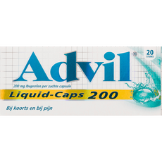 Advil Liquid-Caps Capsules 200 mg
