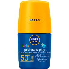 NIVEA SUN Kids Zonnebrand Protect & Play Hydraterende Roll-on SPF 50+ 50 ML