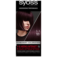 Syoss Salonplex Permanent Coloration 3-3 Trendy Violet