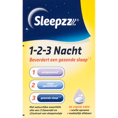 SleepzZ 1-2-3 Nacht Liquid Caps