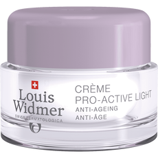 Louis Widmer Pro-Active Cream Light Zonder Parfum 50 ML