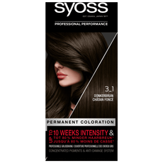 Syoss Salonplex Permanent Coloration 3-1 Donkerbruin